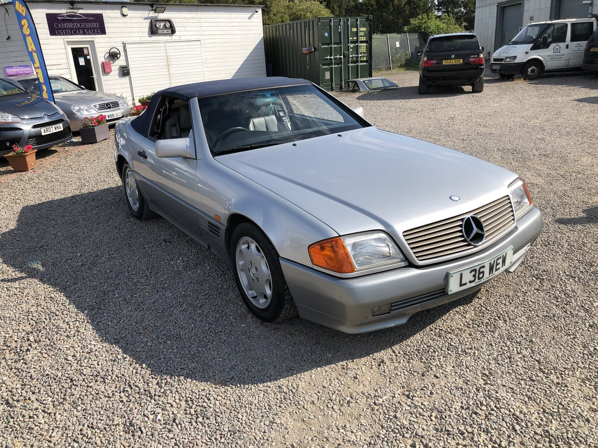 1994 Mercedes-Benz SL Class 2.8 SL280 2dr For Sale (picture 1 of 6)