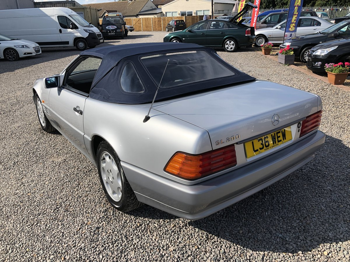 1994 Mercedes-Benz SL Class 2.8 SL280 2dr For Sale (picture 2 of 6)