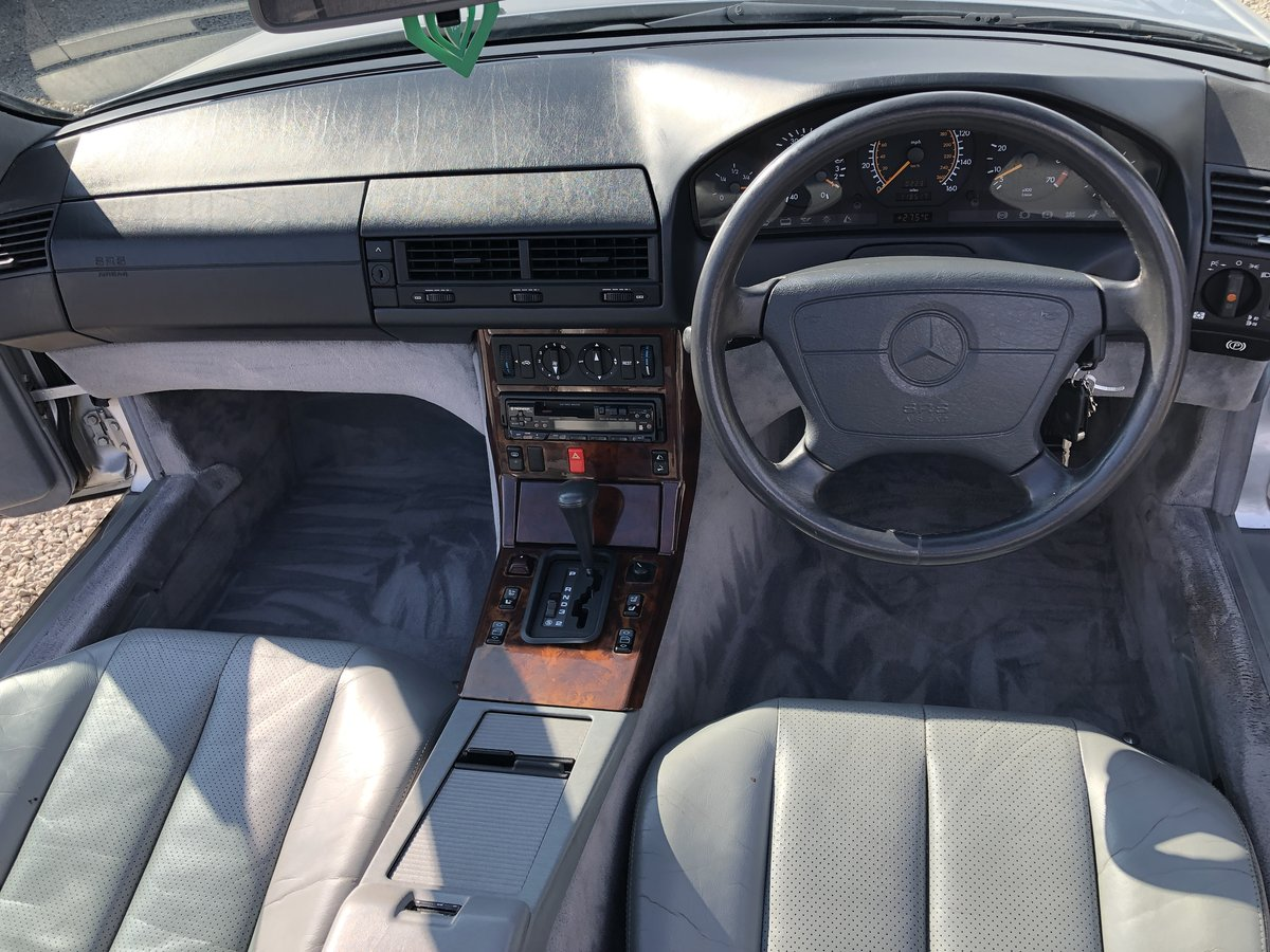 1994 Mercedes-Benz SL Class 2.8 SL280 2dr For Sale (picture 4 of 6)