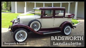 2003 Badsworth Landaulette Vintage Style Wedding Car For Sale