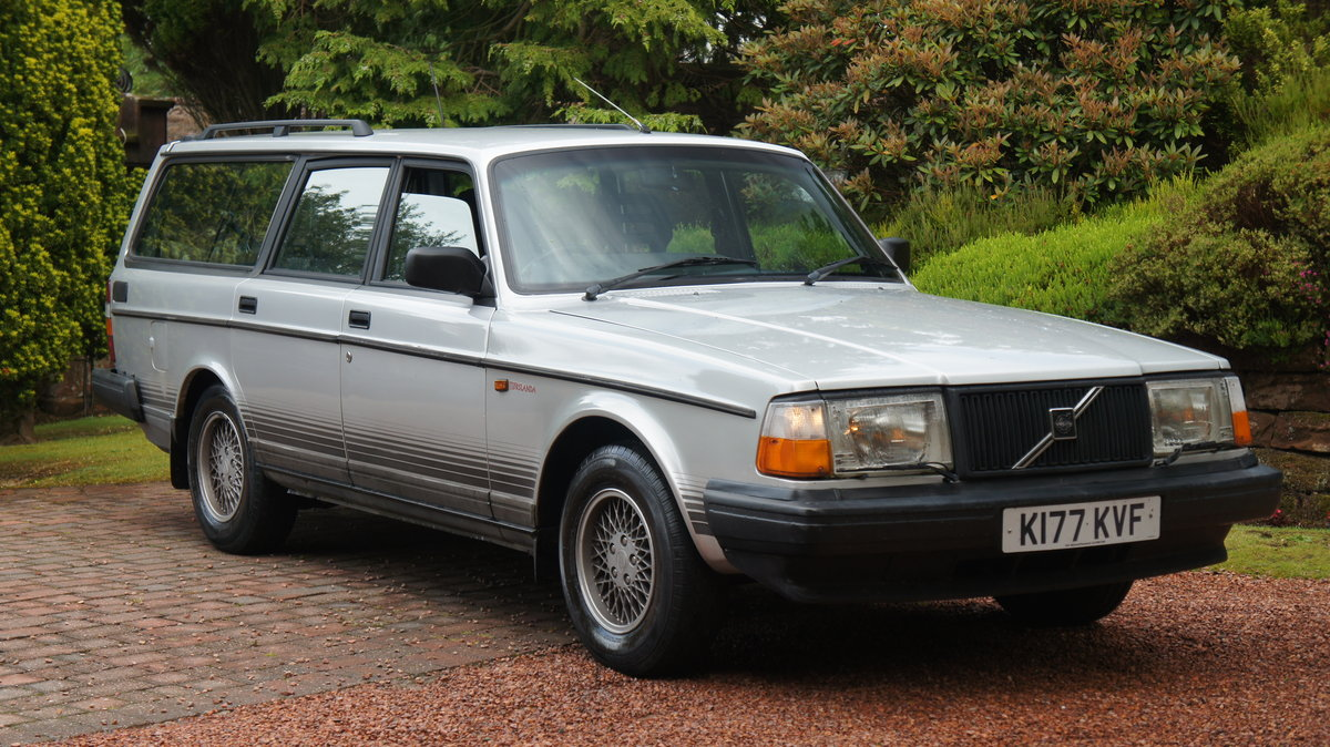 1993 VOLVO 240 TORSLANDA - RARE ORIGINAL VOLVO For Sale (picture 1 of 6)