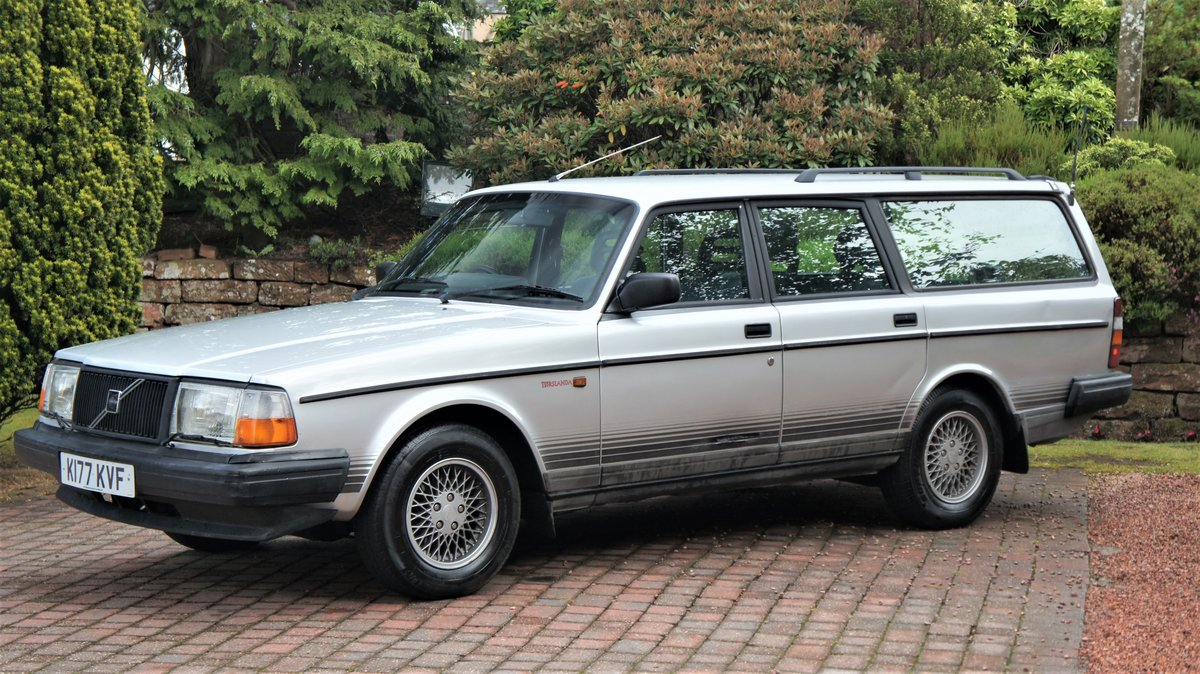 1993 VOLVO 240 TORSLANDA - RARE ORIGINAL VOLVO For Sale (picture 2 of 6)