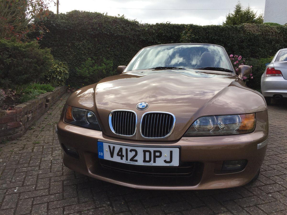 1999 BMW Z3 2.8 Roadster - Low Mileage - Rare Colour For Sale (picture 1 of 6)
