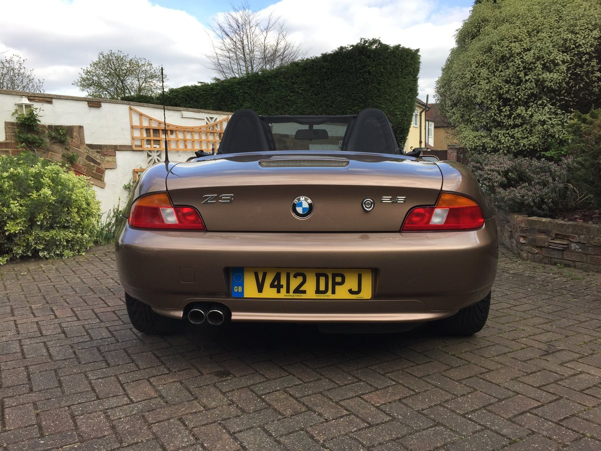 1999 BMW Z3 2.8 Roadster - Low Mileage - Rare Colour For Sale (picture 2 of 6)