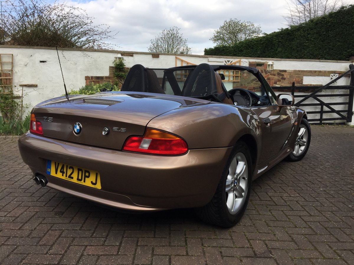 1999 BMW Z3 2.8 Roadster - Low Mileage - Rare Colour For Sale (picture 4 of 6)
