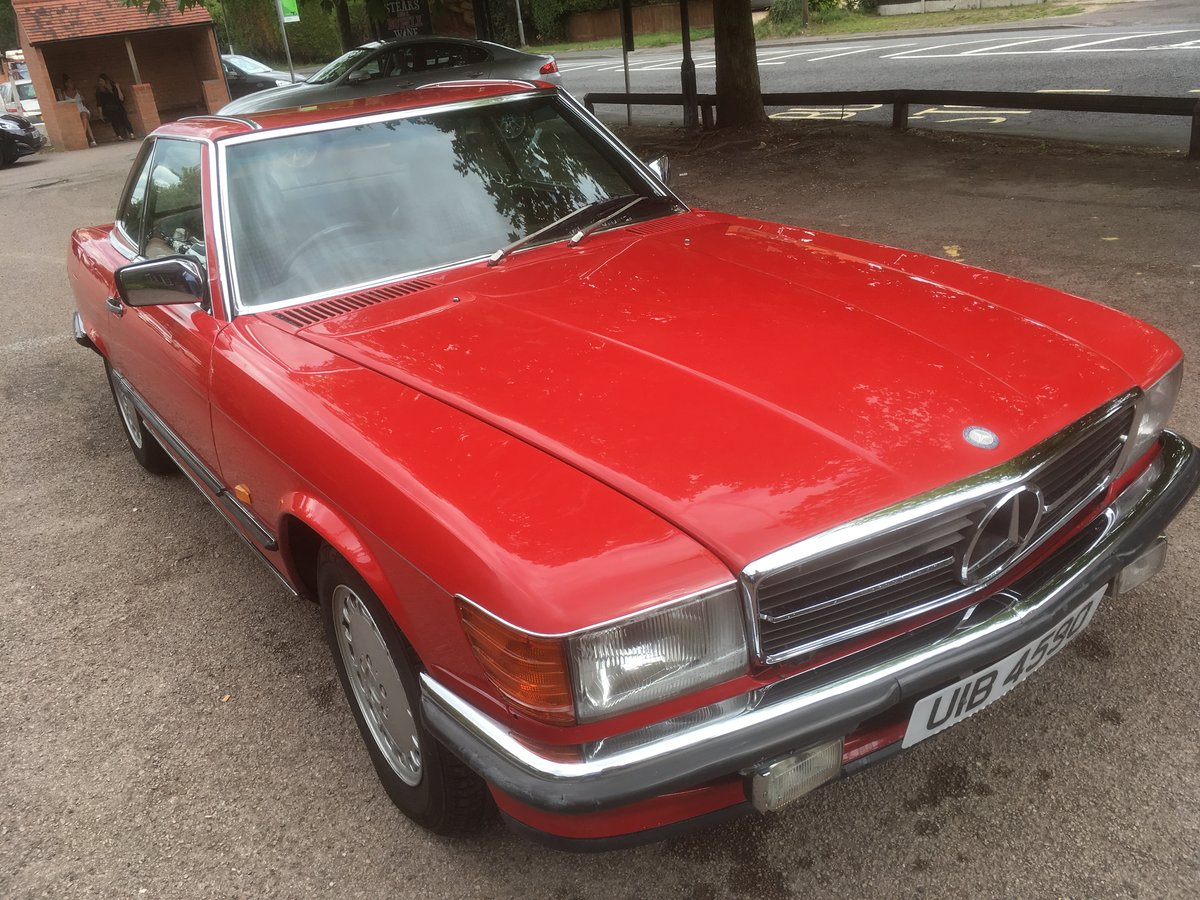 1987 Mercedes  sl300    R107 For Sale (picture 2 of 6)