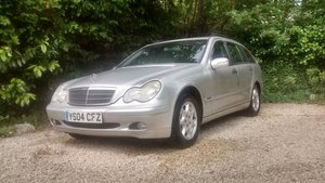 2004 Mercedes C200  estate supercharged For Sale