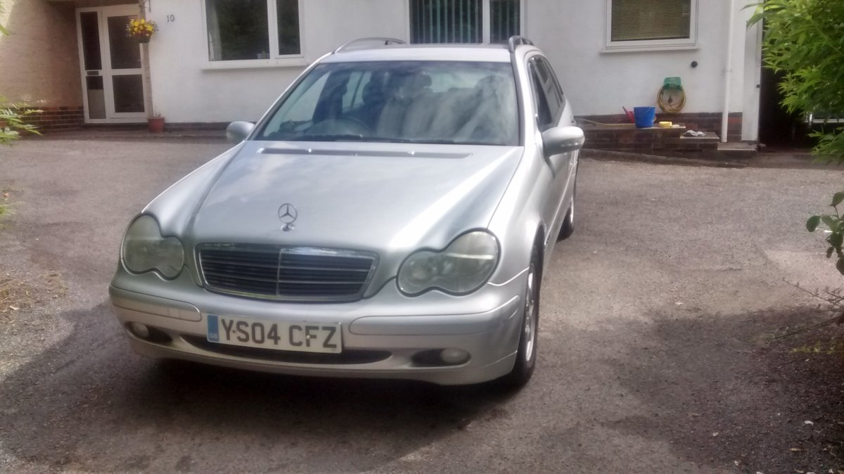 2004 Mercedes C200  estate supercharged For Sale (picture 6 of 6)