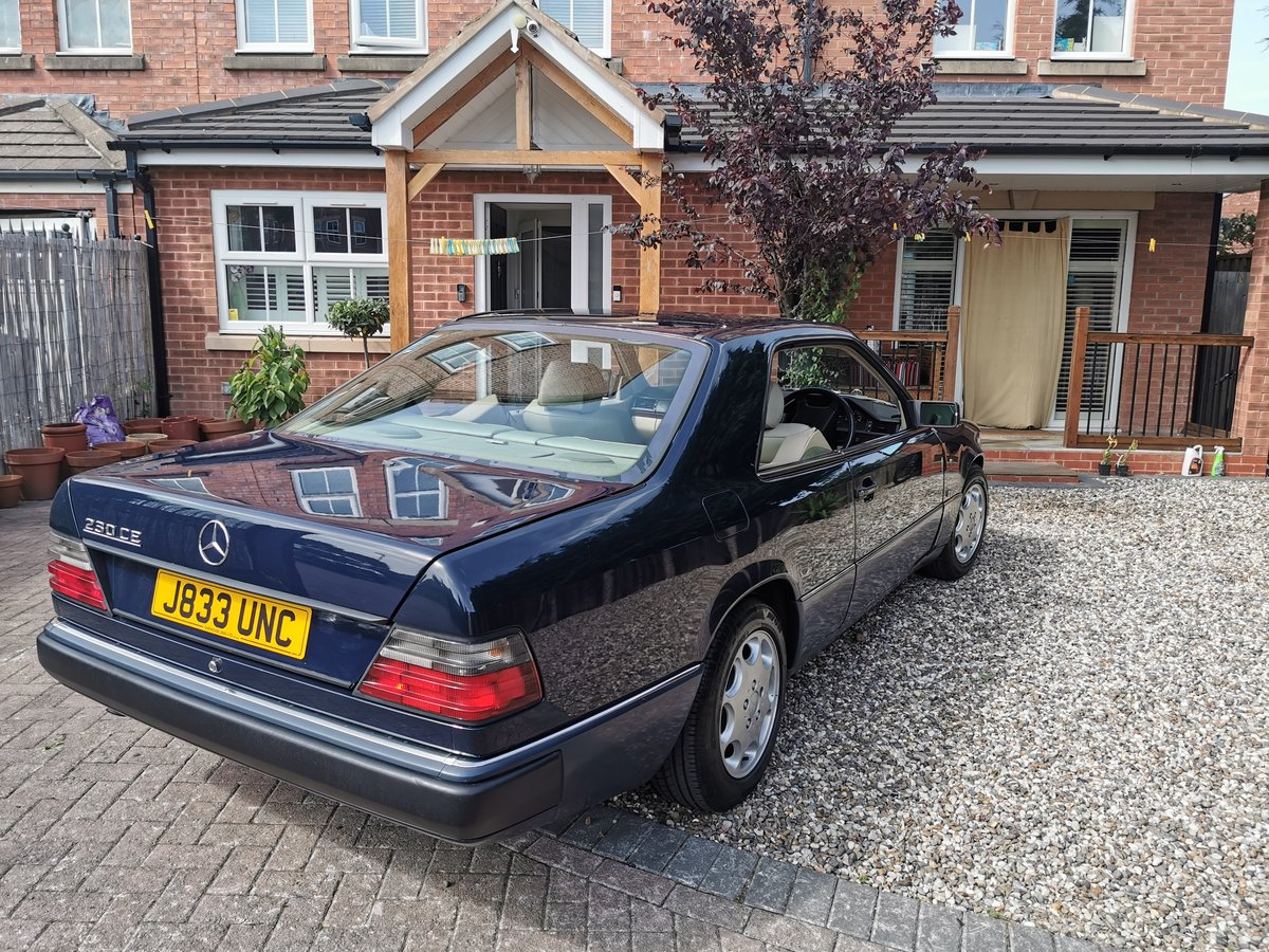 1991 Mercedes 230CE Mint FSH For Sale (picture 1 of 6)