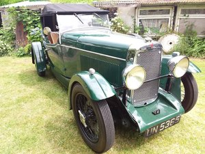 1932 ALVIS 12/60 Beetleback For Sale