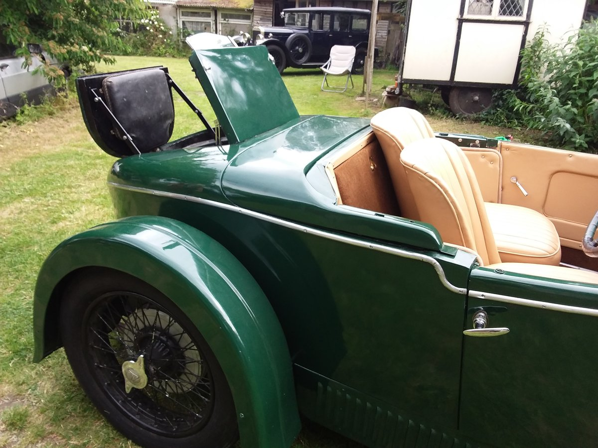 1932 ALVIS 12/60 Beetleback For Sale (picture 3 of 4)