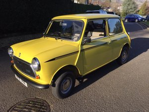 1981 Austin Mini City ; new BMH body shell For Sale