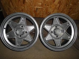 ALFA ROMEO old Aluminium wheels