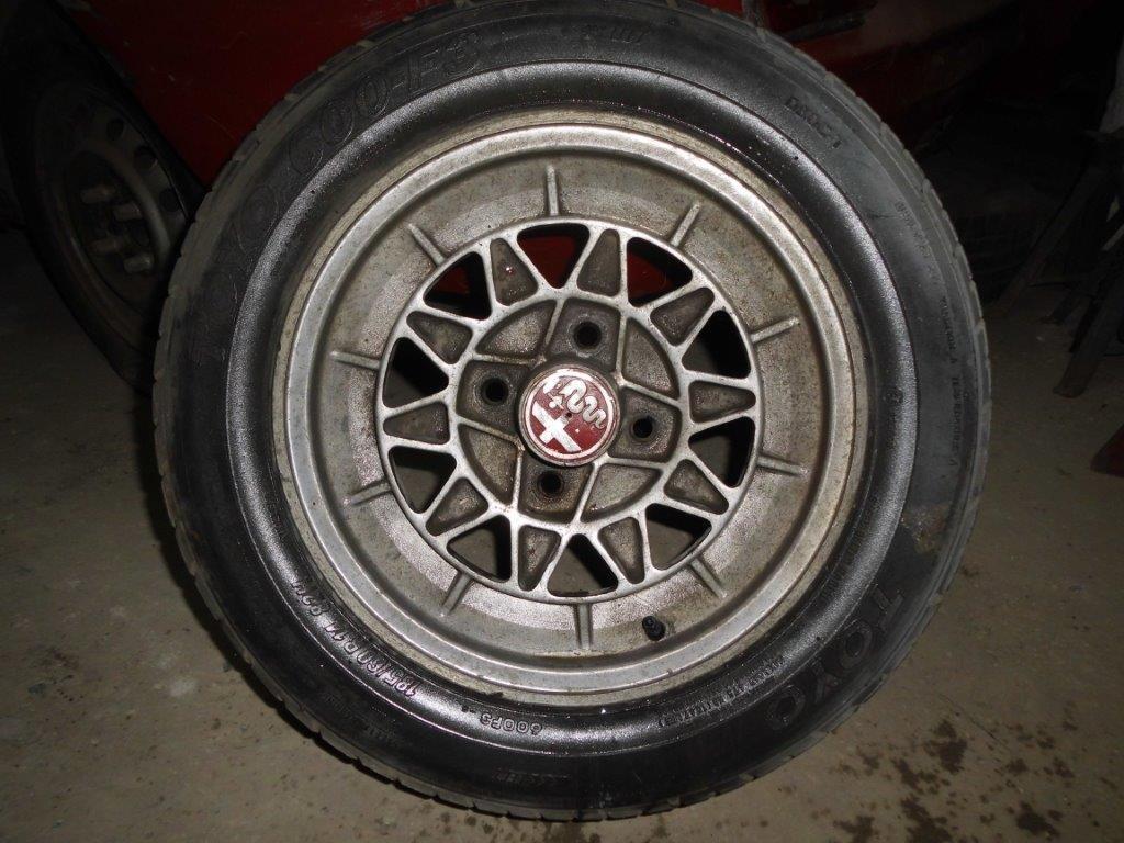 ALFA ROMEO old Steel  &  Aluminium wheels For Sale (picture 3 of 4)
