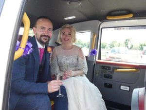 Picture of 2016 White wedding taxi for hire