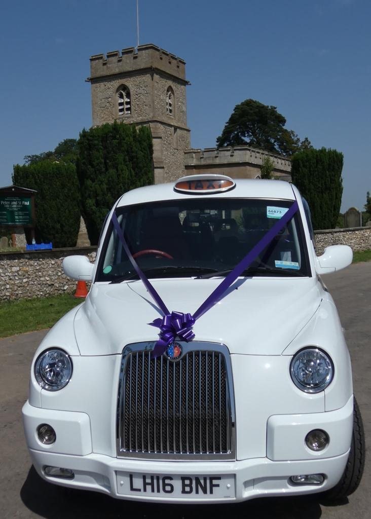2016 White wedding taxi for hire For Hire (picture 2 of 6)