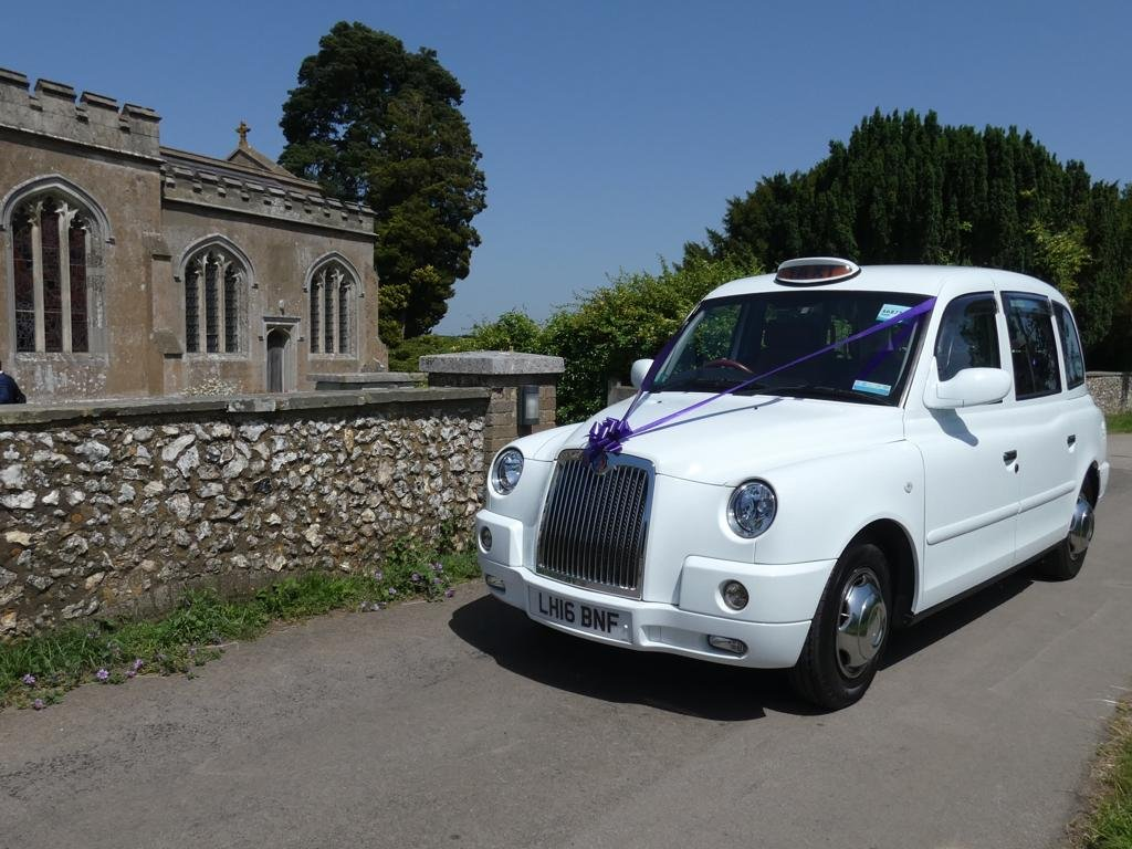 2016 White wedding taxi for hire For Hire (picture 3 of 6)
