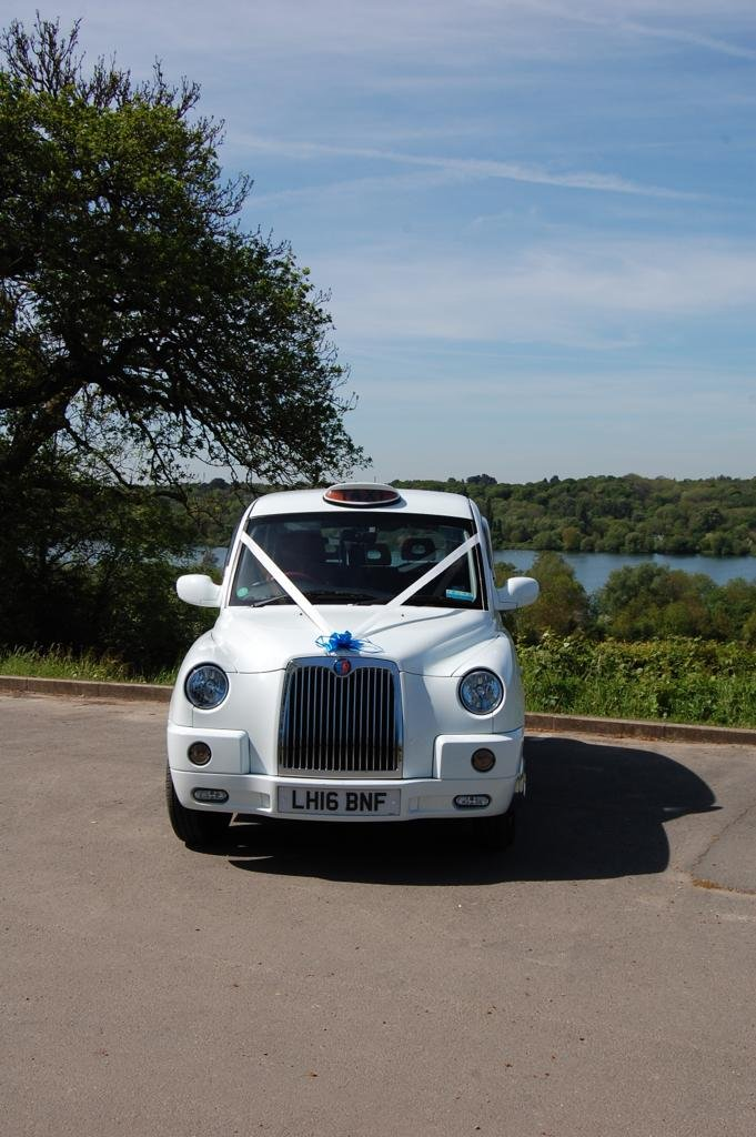 2016 White wedding taxi for hire For Hire (picture 5 of 6)