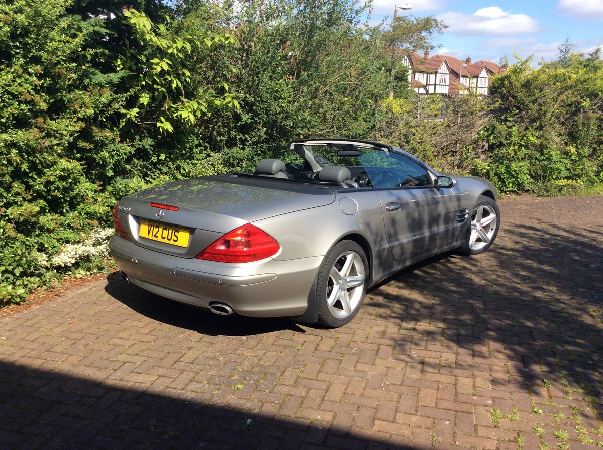 2005 Mercedes SL500 Sports For Sale (picture 2 of 6)