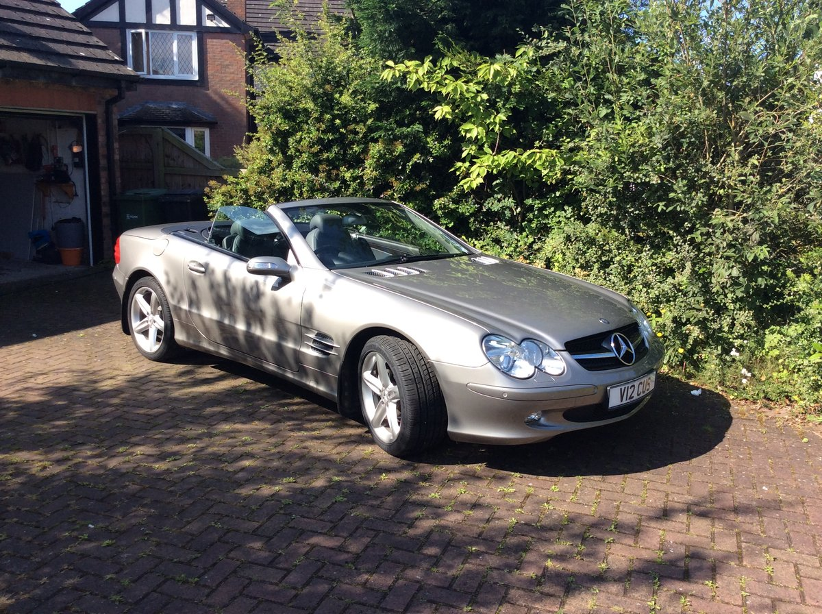 2005 Mercedes SL500 Sports For Sale (picture 3 of 6)