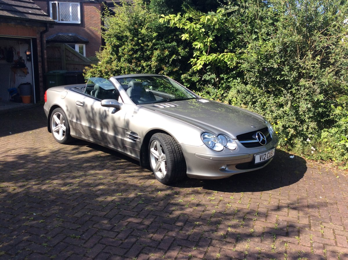 2005 Mercedes SL500 Sports For Sale (picture 4 of 6)
