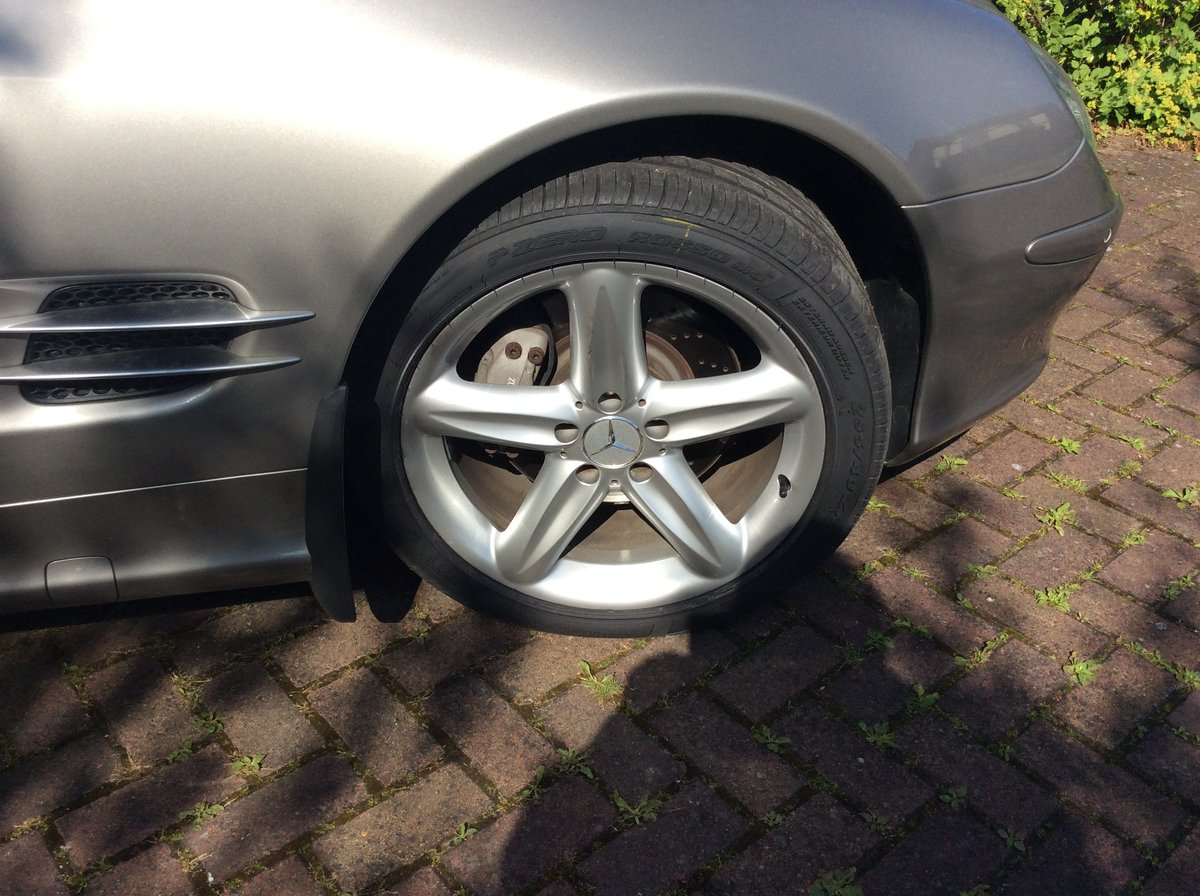 2005 Mercedes SL500 Sports For Sale (picture 5 of 6)
