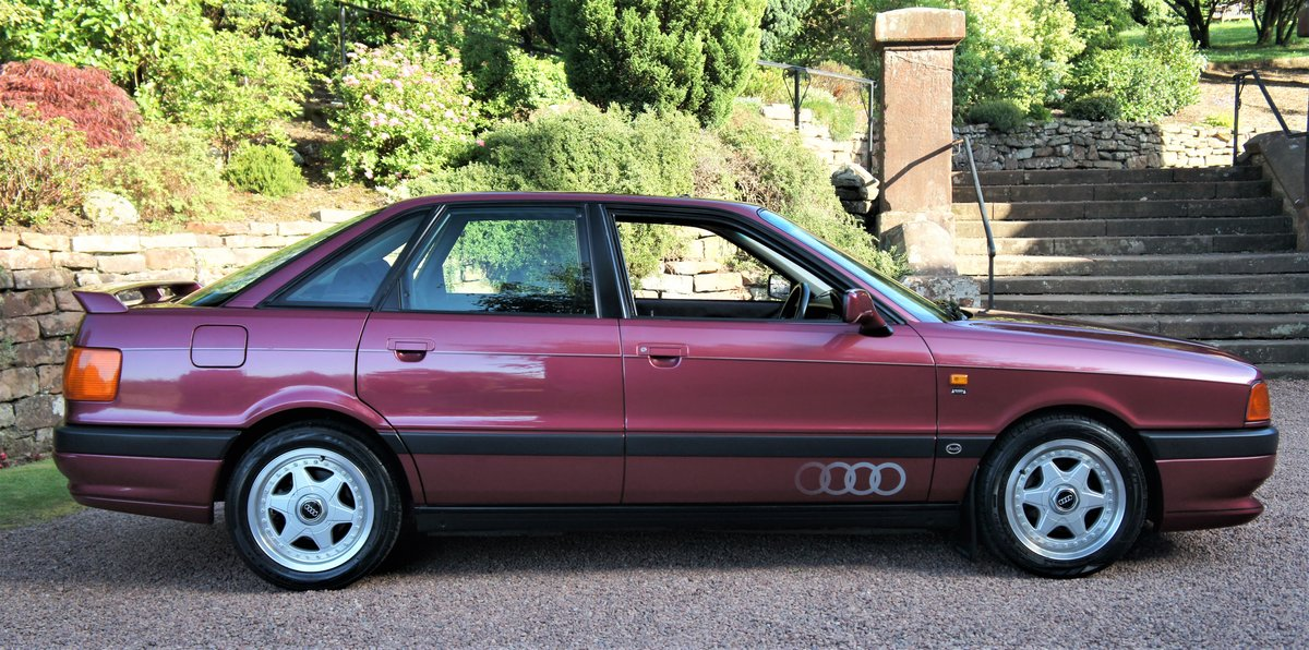 1992 AUDI 80 2.0E SPORT - 34000 MILES - RAMEI KIT  For Sale (picture 1 of 6)