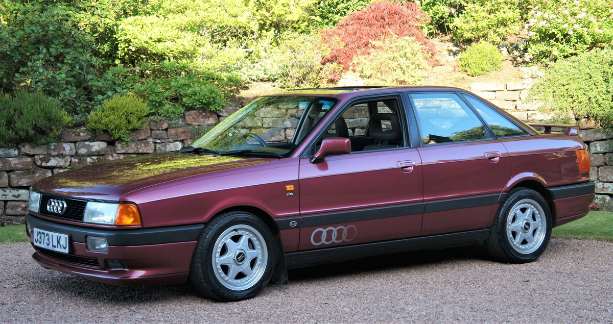 1992 AUDI 80 2.0E SPORT - 34000 MILES - RAMEI KIT  For Sale (picture 2 of 6)