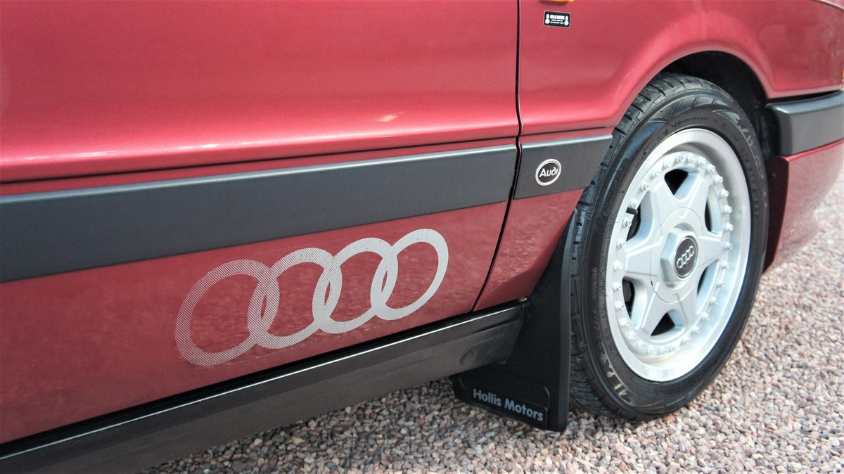 1992 AUDI 80 2.0E SPORT - 34000 MILES - RAMEI KIT  For Sale (picture 3 of 6)