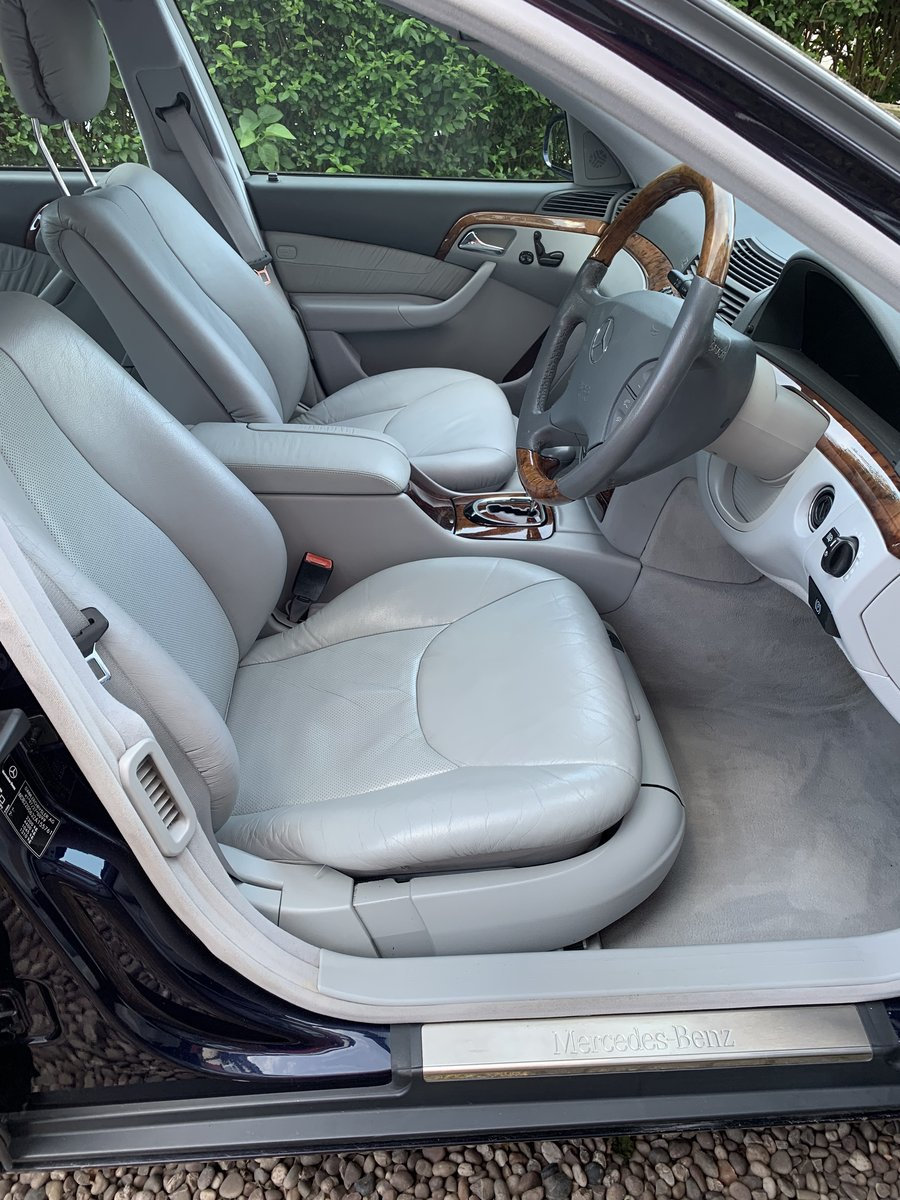 2000 Mercedes S280, only 49,600 miles! For Sale (picture 4 of 6)