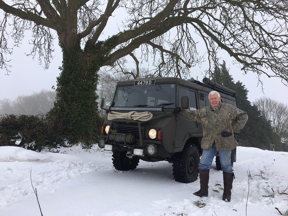 1979 Perfect ex Swiss Army Pinzgauer 710M For Sale (picture 1 of 6)