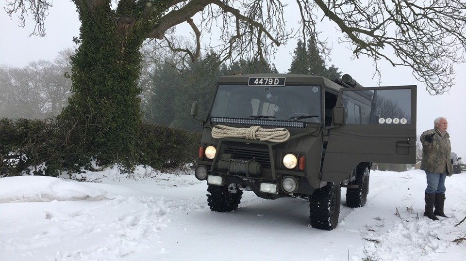 1979 Perfect ex Swiss Army Pinzgauer 710M For Sale (picture 2 of 6)