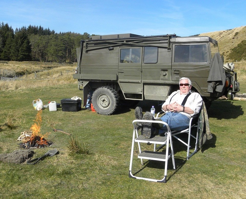 1979 Perfect ex Swiss Army Pinzgauer 710M For Sale (picture 6 of 6)