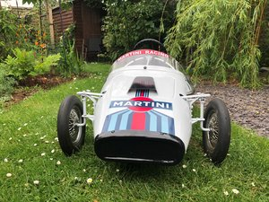 Tri-ang Grand Prix Martini Racer Pedal Car For Sale
