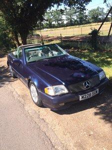 1995 Mercedes SL500 Convertible