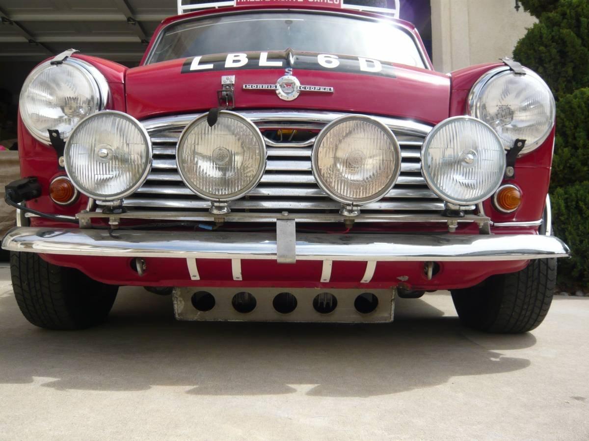 1966 Morris cooper S MK1 BMC Works Replica Monte Carlo  For Sale (picture 3 of 6)
