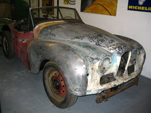 1951 Jowett Jupiter LHD plus many new and used parts For Sale