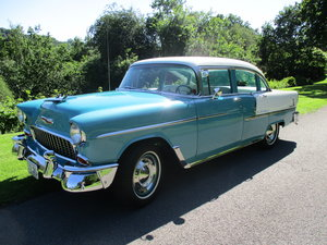 1955 chevy bel-air ground up restoration