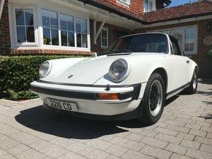 Porsche 911sc targa rhd uk car