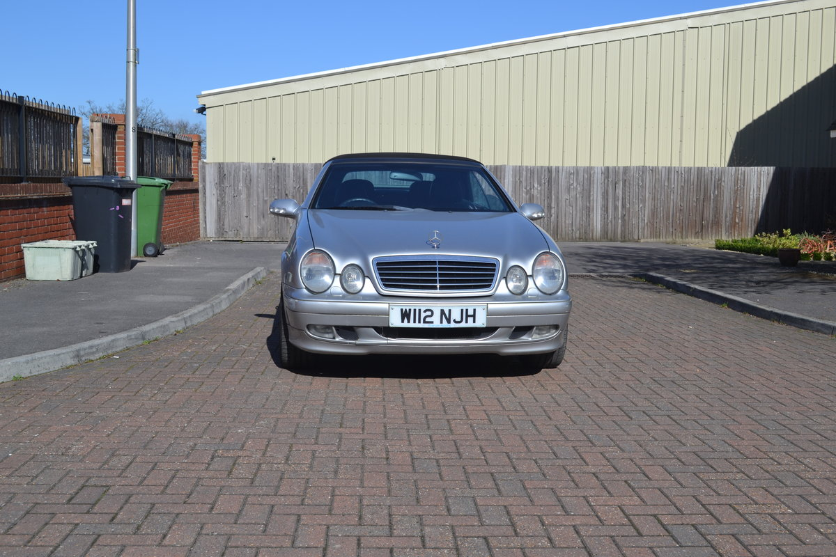2000 Mercedes 430 CLK For Sale (picture 1 of 6)