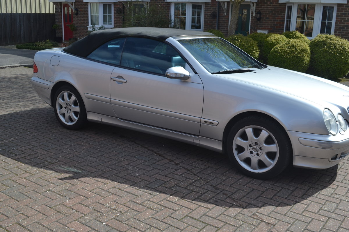 2000 Mercedes 430 CLK For Sale (picture 3 of 6)