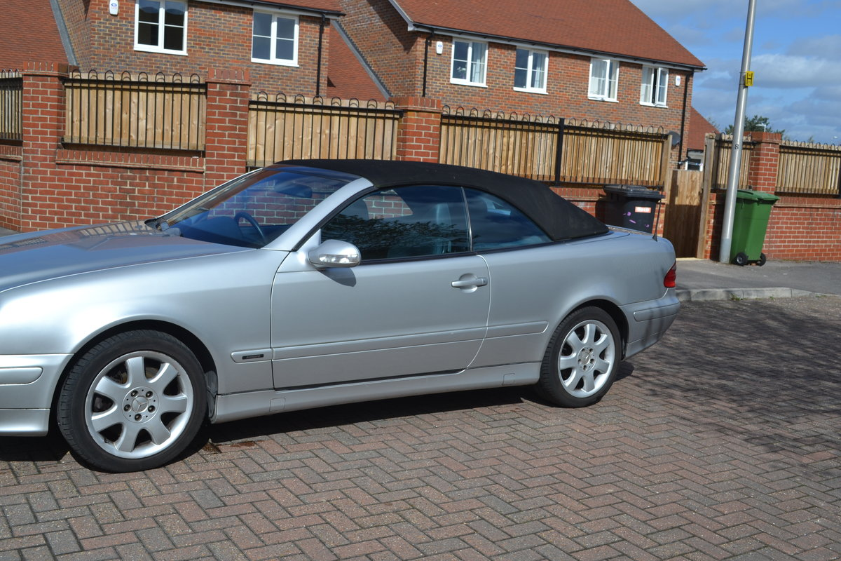 2000 Mercedes 430 CLK For Sale (picture 5 of 6)