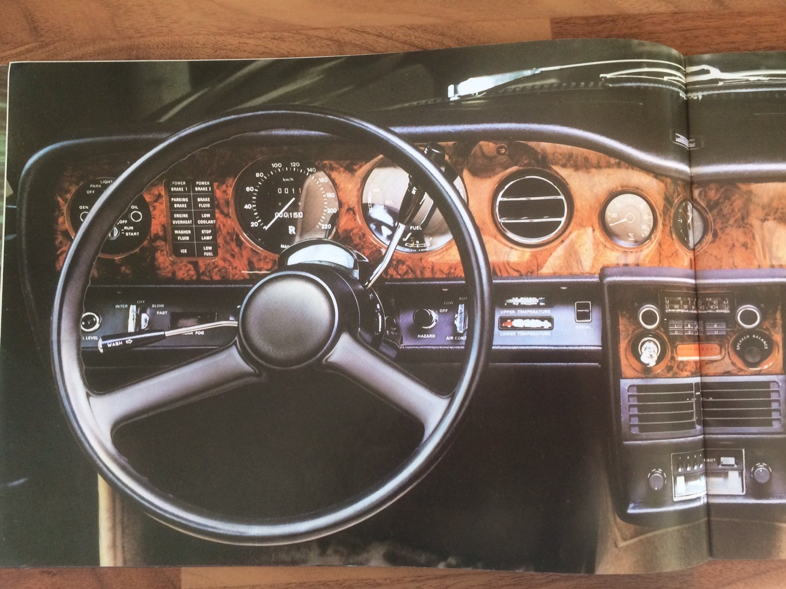 Rolls Royce Silver Shadow II brochure. For Sale (picture 3 of 6)