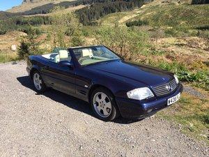 2000 Mercedes SL320 V6 R129
