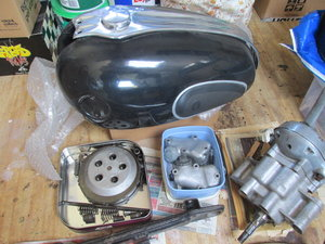 1958 Ariel NH350 Project - Dismantled bike for Rebuild SOLD