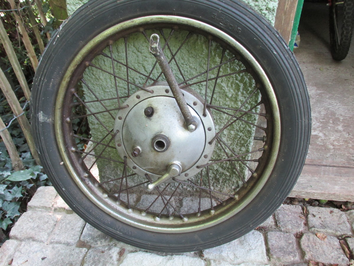 1958 Ariel NH350 Project - Dismantled bike for Rebuild SOLD (picture 4 of 6)
