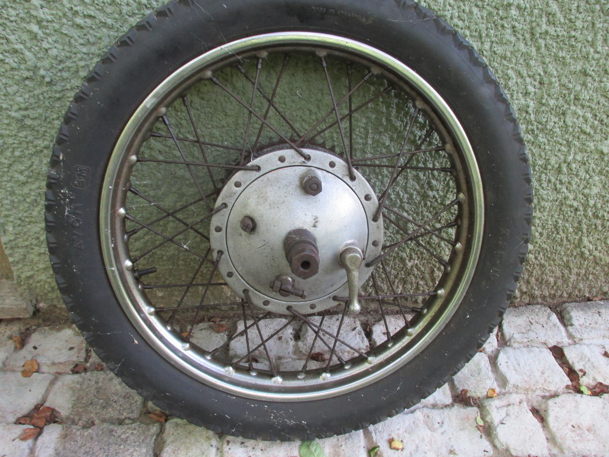 1958 Ariel NH350 Project - Dismantled bike for Rebuild SOLD (picture 5 of 6)
