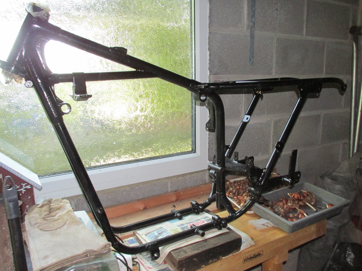 1958 Ariel NH350 Project - Dismantled bike for Rebuild SOLD (picture 6 of 6)