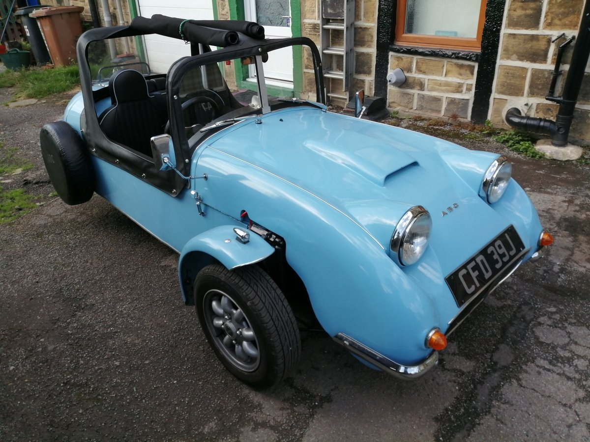 Classic ABC Three Wheel Convertible Kit Car For Sale (picture 1 of 6)