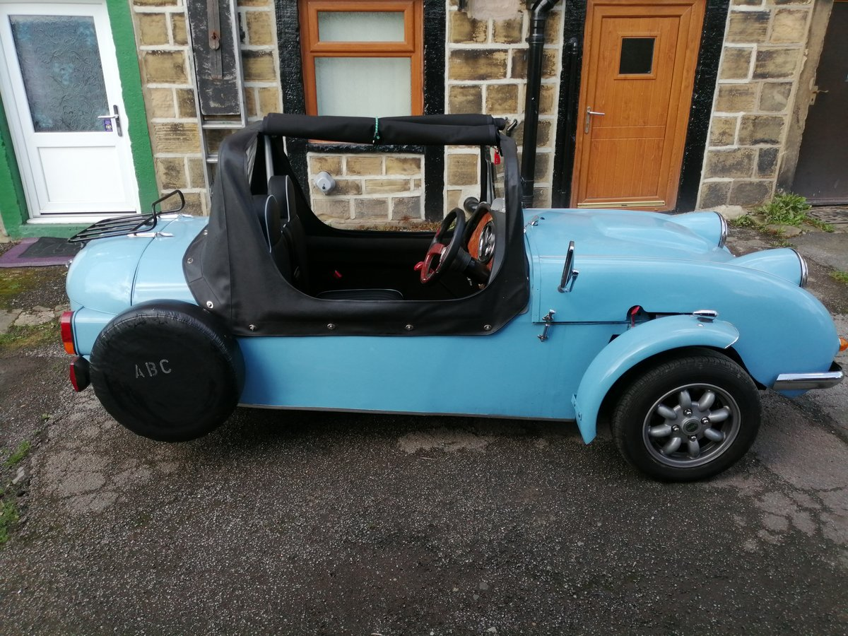 Classic ABC Three Wheel Convertible Kit Car For Sale (picture 2 of 6)